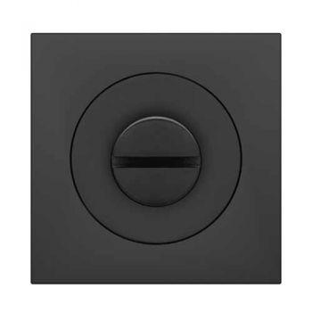 Toilet garnituur 3 delig, mat zwart